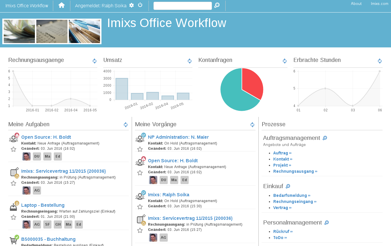 Imixs-Office-Workflow